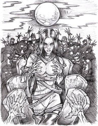 preliminary elena sketch by sidewinder72