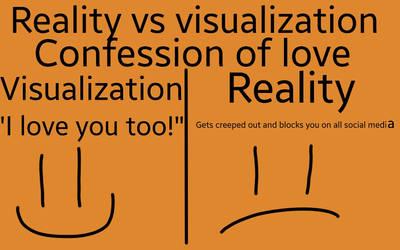 Reality vs visualization