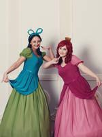 Drizella and Anastasia Tremaine