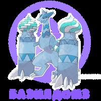 Bazildomz, Frigid Pokemon by Okt-0