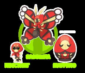 Slovya's Bugs: Nessting, Matrullo and Baboshka by Okt-0