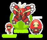 Slovya's Bugs: Nessting, Matrullo and Baboshka