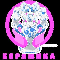 Keryamika, Crafted Pokemon by Okt-0