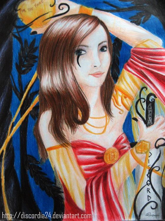 Eris, The Goddess of Discord Picture, Eris, The Goddess of ...