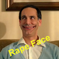 This ones for Eddie: RapeFace by GretchElise