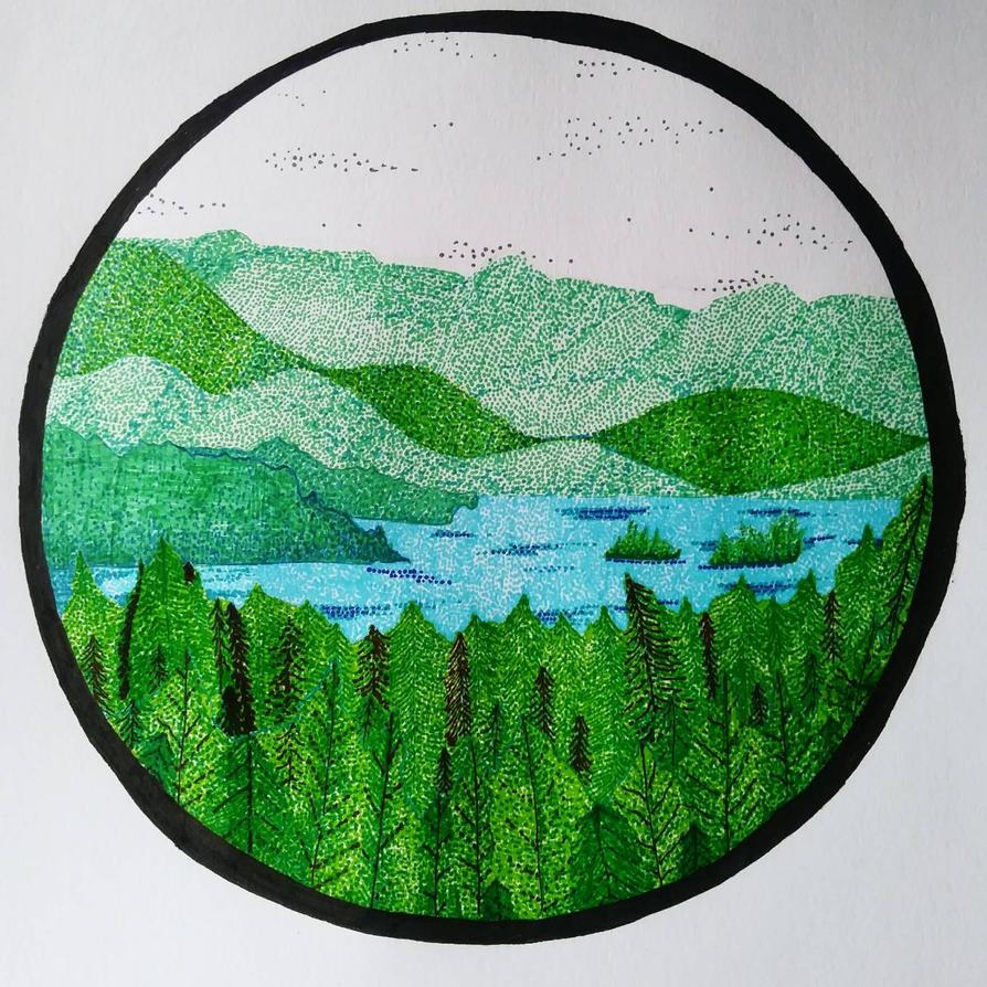 Lake Side Views by GretchElise