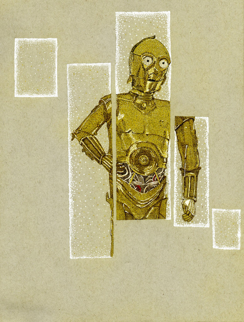 C-3P0 by GretchElise
