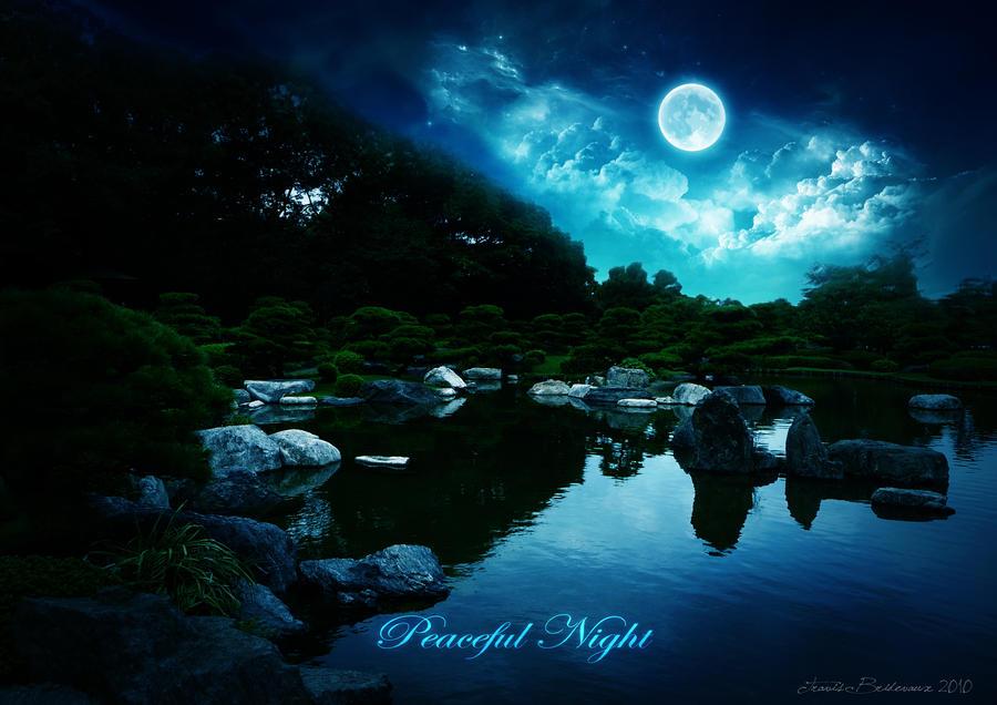 Peaceful Night by Mikayuu