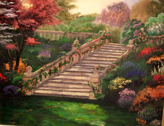 Stairway to Paradise by mzzmesm0rize