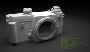 Nikon F3 WIP4