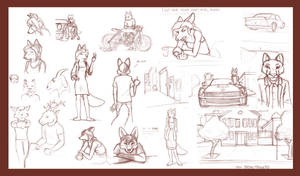 Sketch Dump 10-24-11 by MarcelloRupelli
