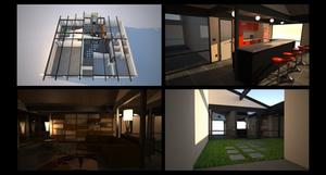 Veronica's House, interiors