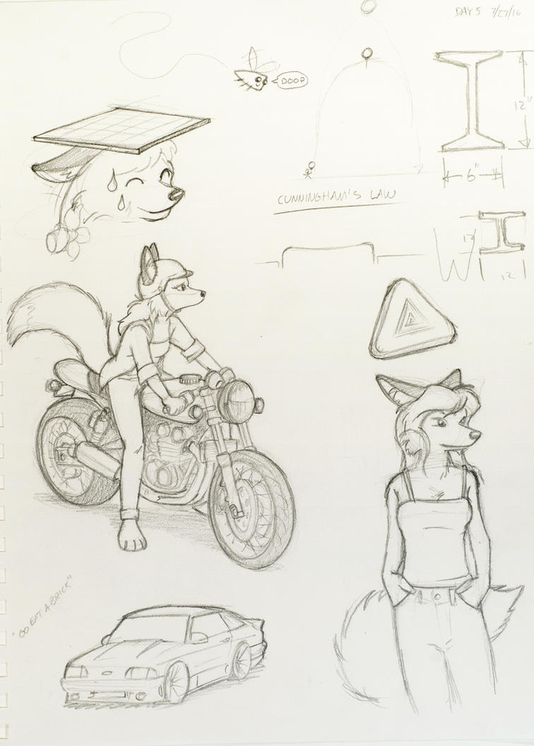 Sketch Day 5 by MarcelloRupelli