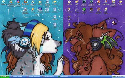 Magnetized Desktop by WitchyWanda