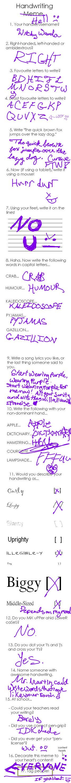 Handwriting Meme Thingy by WitchyWanda