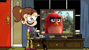 Luan Is Watching The Angry Birds Movie