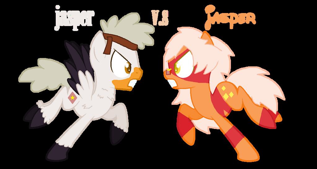 Jasper vs Jasper by mixelfangirl100