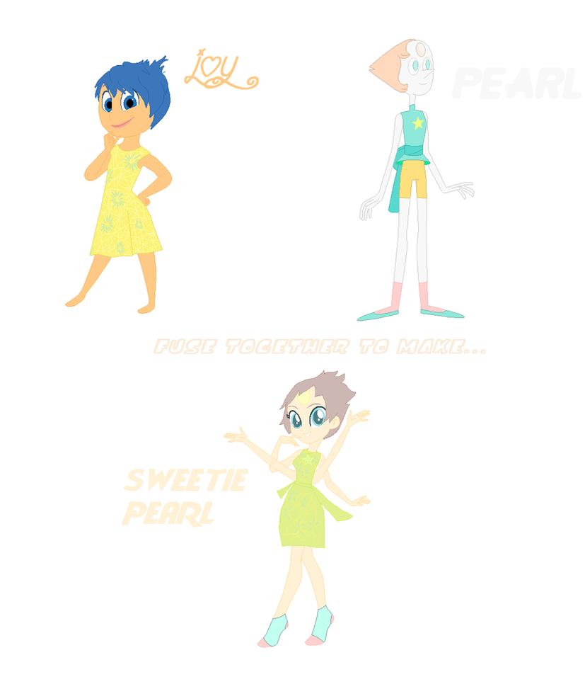Joy And Pearl's Fusion by mixelfangirl100