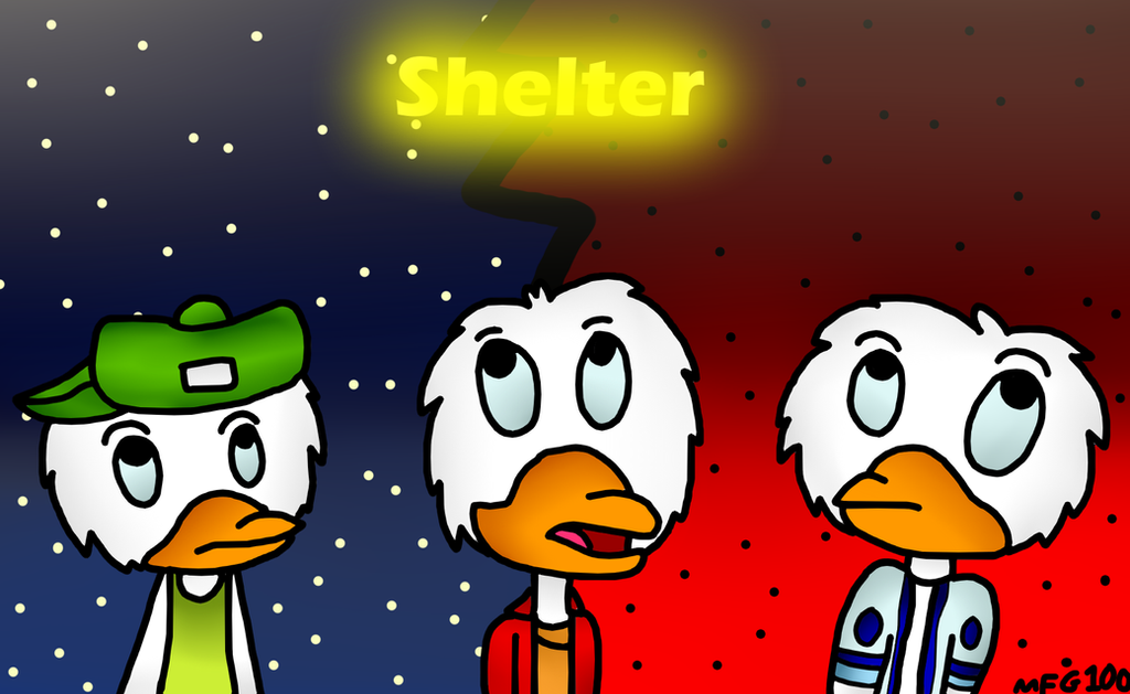 Triplets Shelter by mixelfangirl100