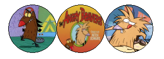 Angry Beaver Deco Divider by mixelfangirl100