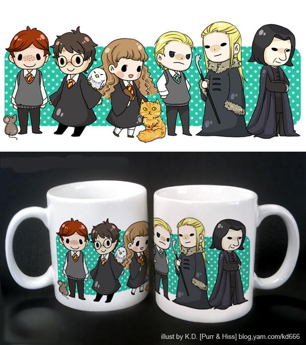 HP mug by KD666