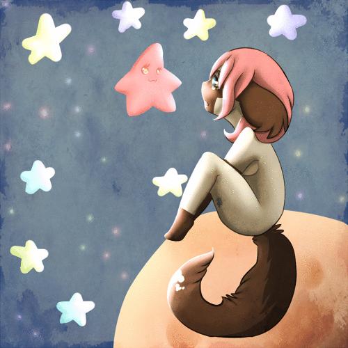 .:The Stars Above:. by XshewolfsamX