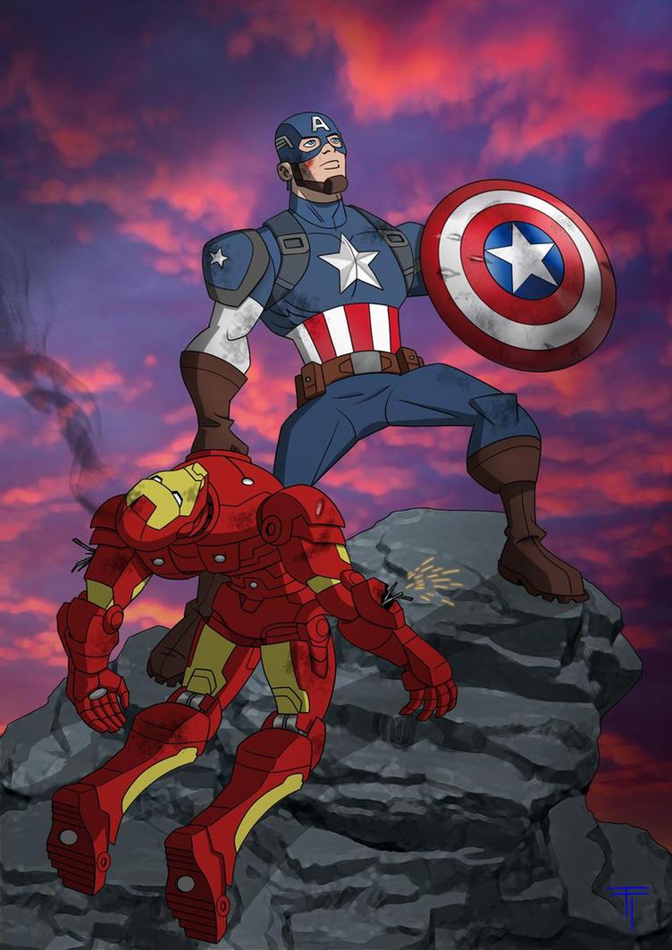 Cap v Iron by TommyTejeda