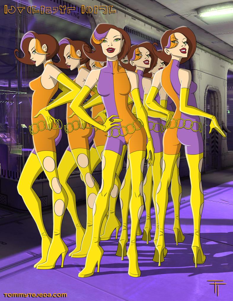 Duplicate Girl by TommyTejeda