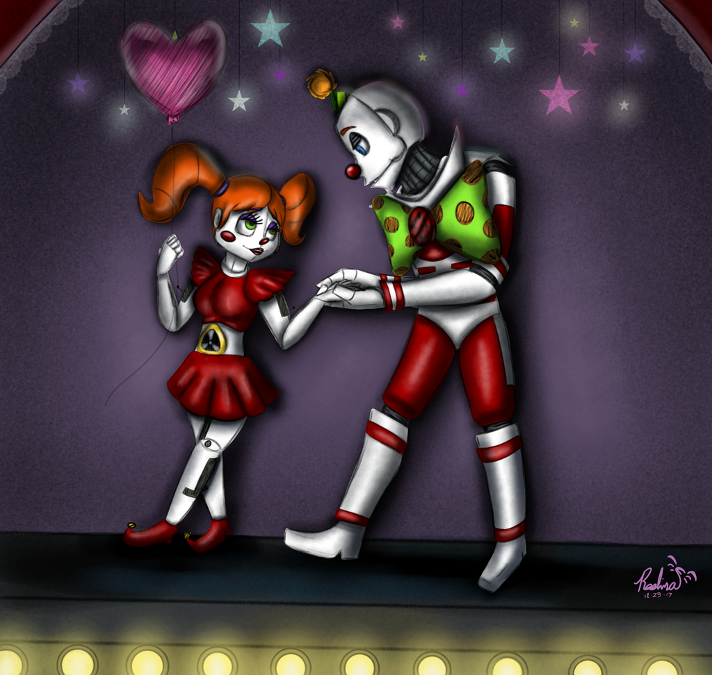 Ennard And Circus Baby(again XD) By XRAVENBLADEx On DeviantArt