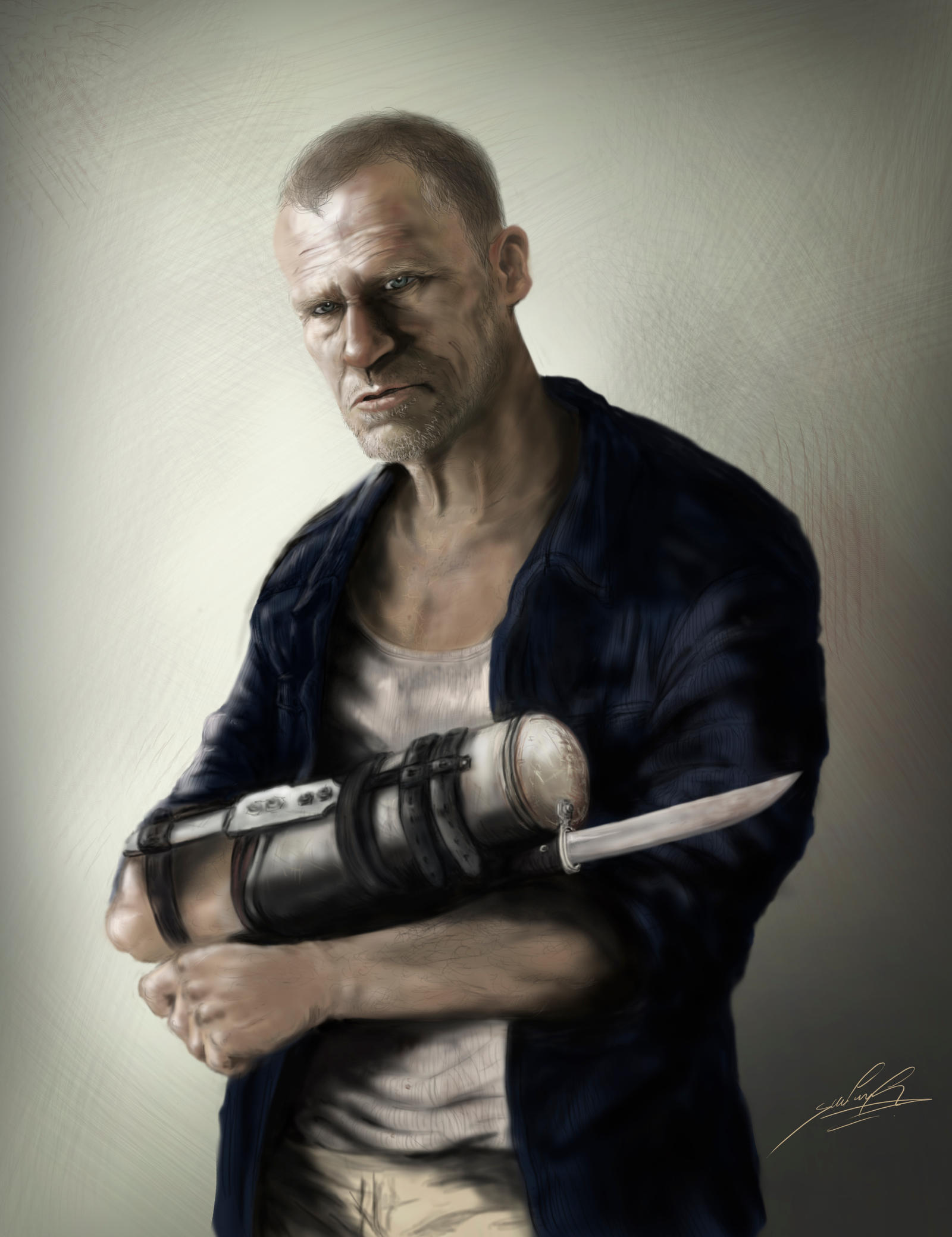 Merle Dixon by wafspr