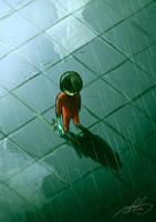 Lost Under The Rain by wafspr