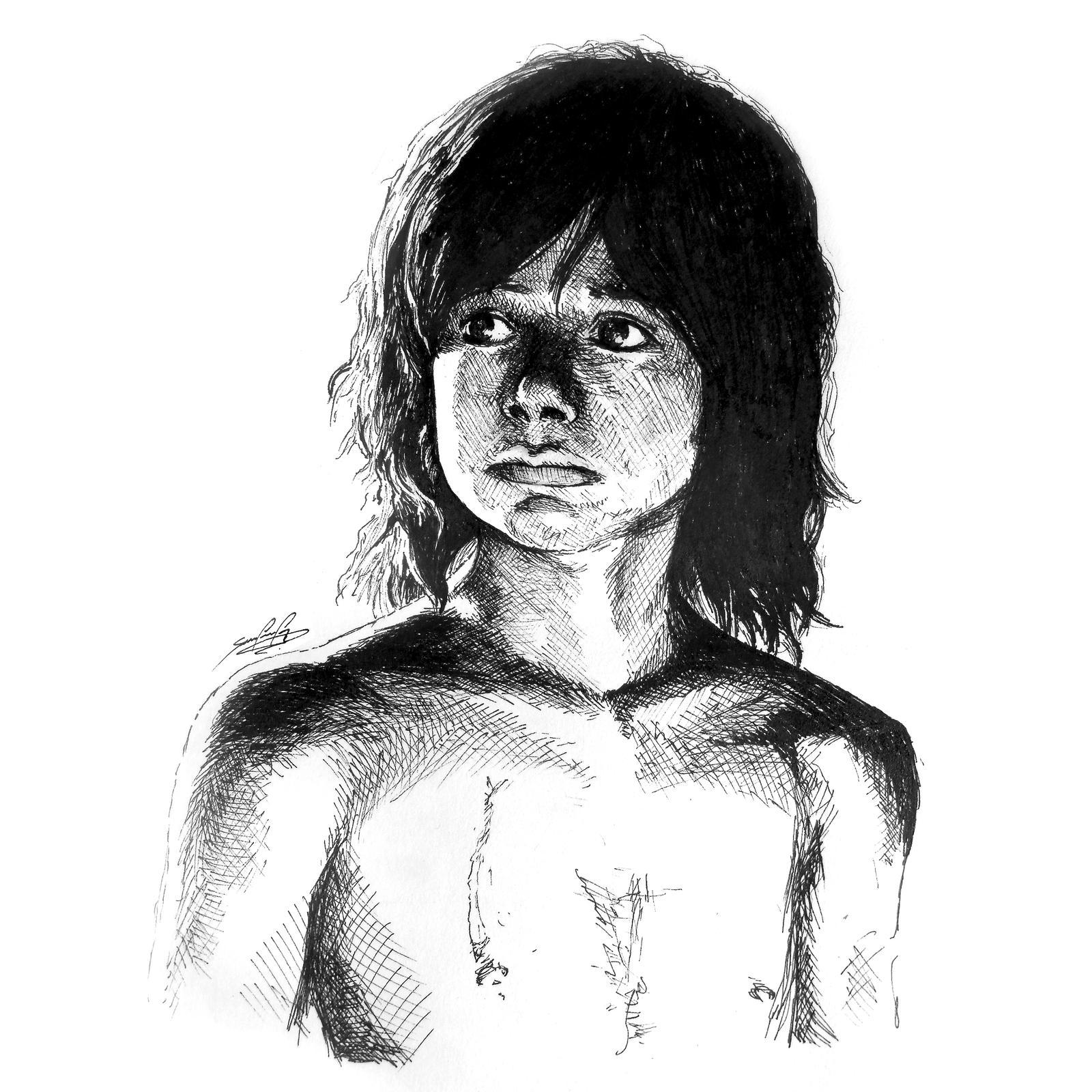 Mowgli - The Jungle Book. by wafspr