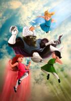 The Powerpuff Girls by wafspr