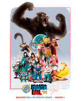 DB RealLife Fanart  Season 1 Poster by wafspr