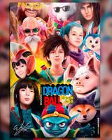 DragonBall Season 1 Liveaction Fanart Poster by wafspr