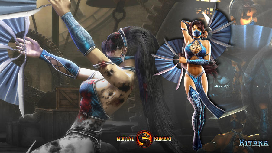 Group Of Kitana Mk9 Wallpapers