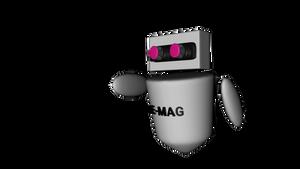 E - Mag 3D Model