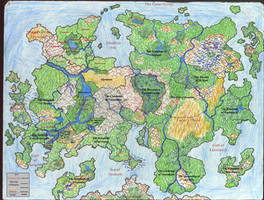 Map of Tiala -Political-