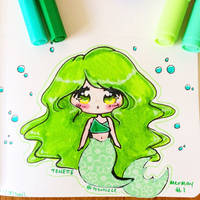 Mermay 2018 : Green Things by totshieee