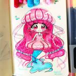 Mermay 2018 : Lady pink jellyfish