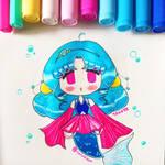 Chibi: Mermay Blue