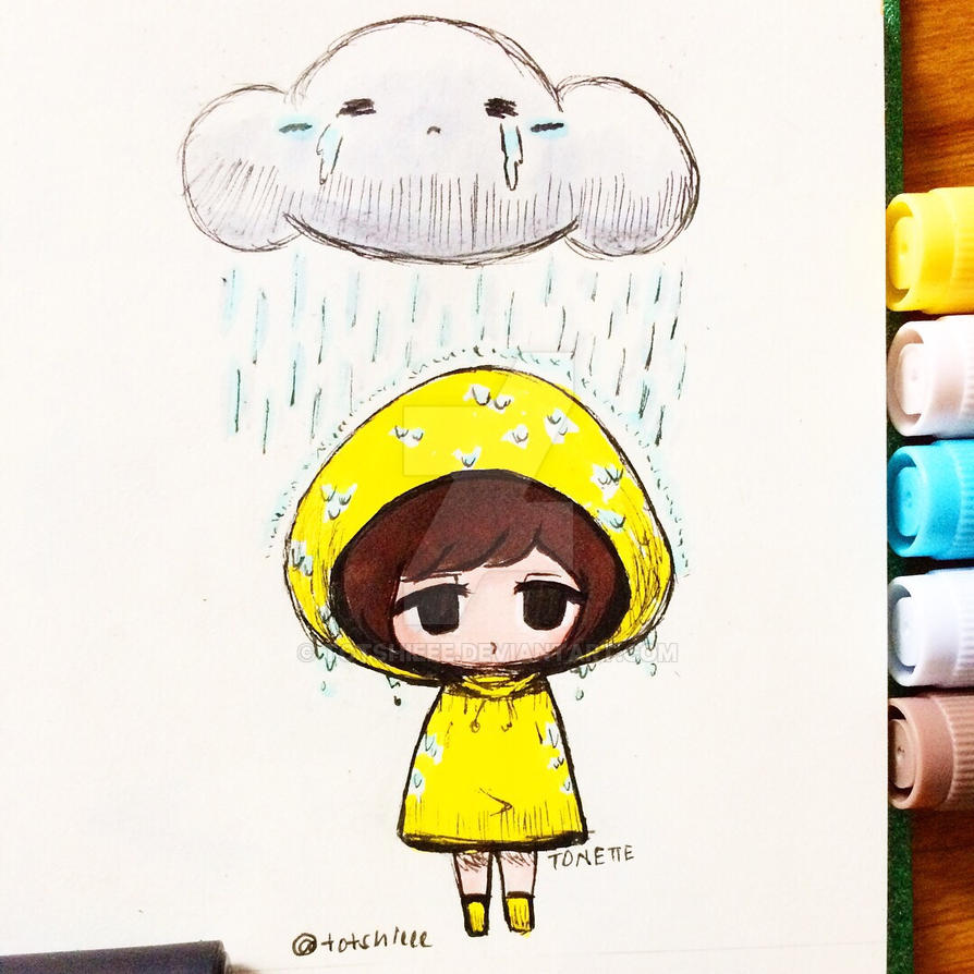 Chibi : Rain By Totshieee On DeviantArt