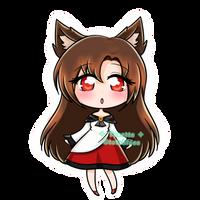 [RP] Chibi : Kagerou Imaizumi - touhou by totshieee