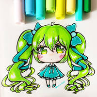 Small Chibi : Evergreen by totshieee
