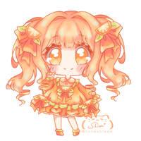 Orange Chibi Lolita