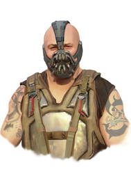 BANE Speed Painting by MOROTEO56