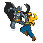 The Dark Knight Rises - the Simpsons