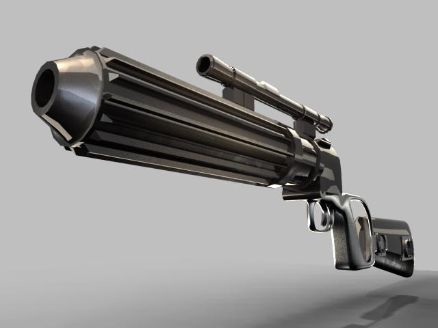 Boba Fett Gun by MOROTEO56