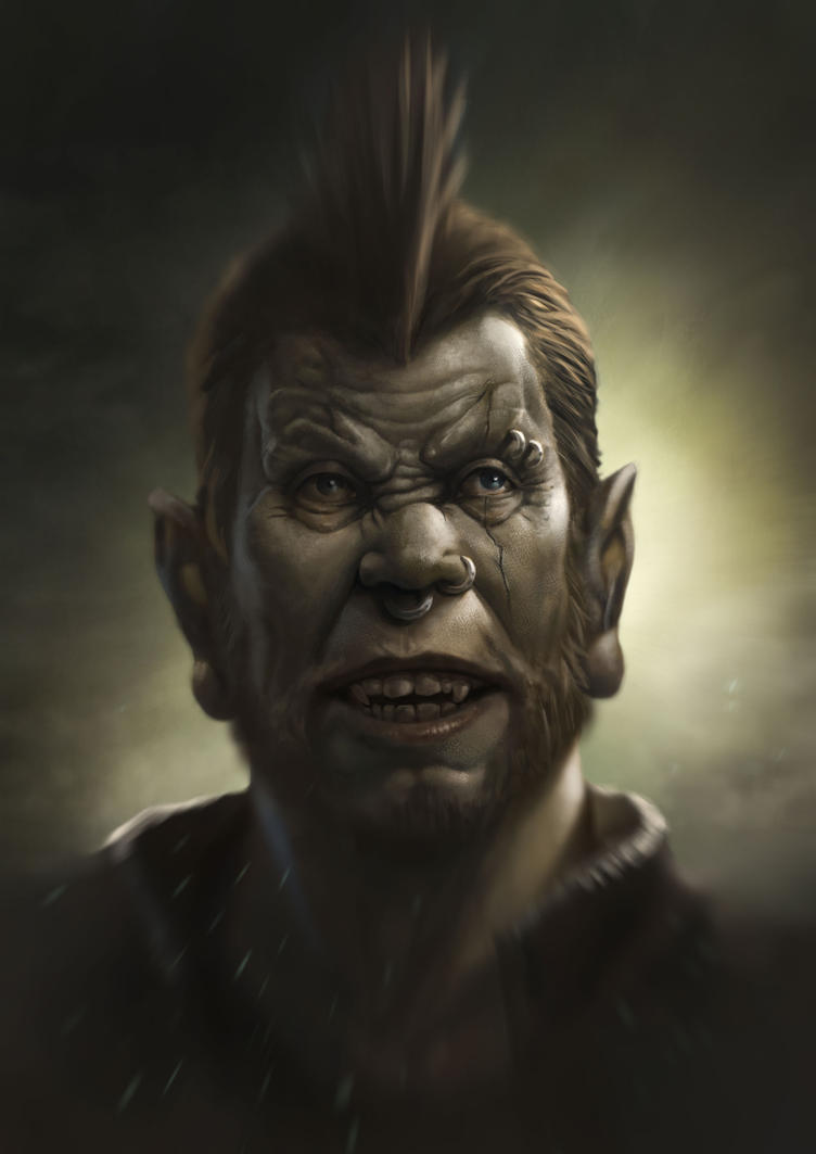 Rocker Orc by MOROTEO56