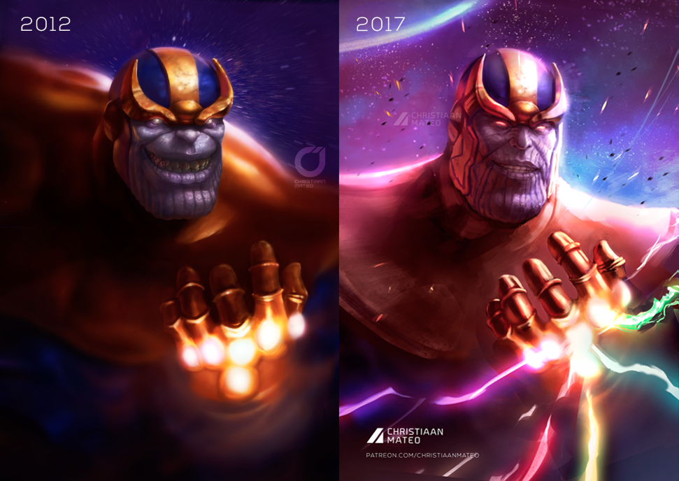 Thanos by MOROTEO56